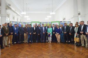 18-10 Ritondo coordinó Consejo Regional de Seguridad Bahia Blanca