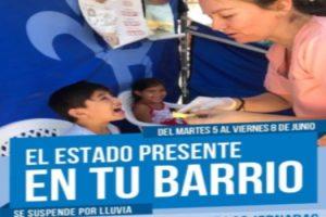 AB DESDE MAÑANA BRINDAMOS SERVICIOS A NUESTROS VECINOS CON EL ESTADO EN TU BARRIO 2
