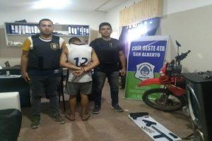 Detenido por PIL y Robo a chofer UBER - Isidro Casanova 2