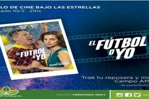 EE Cine al aire libre- sábado- Campo Amat