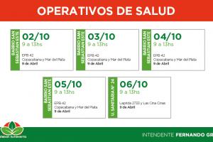 EE EL MUNICIPIO REALIZA CONTROLES DE SALUD PARA NIÑOS EN 9 DE ABRIL