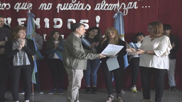 EE INICIO DE CLASES DE LA ESCUELA SECUNDARIA N°13 2