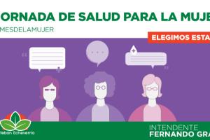 EE JORNADAS DE SALUD EN EL MES DE LA MUJER