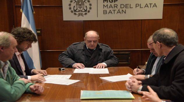 Foto MGP - El Municipio y el INTA trabajan en conjunto