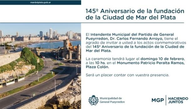 MGP - Acto 145 años de fundacion de Mar del Plata 2