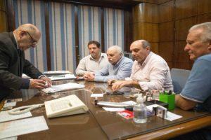 MGP - Arroyo firma acuerdo paritarias con STM