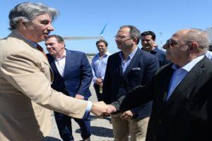 MGP - Arroyo junto al presidente de Aerolineas Argentinas