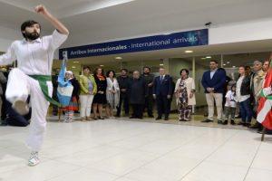 MGP - Arroyo le dio la bienvenida al presidente del Gobierno Vasco 01