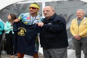 MGP - Arroyo premió a los ganadores del Ironman Mar del Plata 1