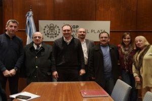 MGP - Arroyo reunion con COPRET