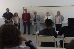 MGP - Arroyo visitó el Complejo Educativo Tecnológico (CETec) 1