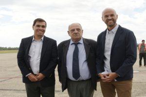 MGP - Arroyo y Dietrich anunciaron obras para el Aeropuerto Astor Piazzolla