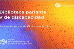MGP Biblioteca parlante y de discapacidad