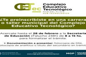 MGP CETec preinscripcion