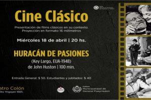 MGP Cine Clasico Huracan de Pasiones