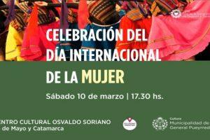 MGP - Dia de la Mujer Centro Cultural Osvaldo Soriano
