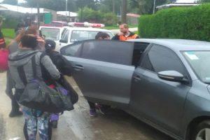 MGP Evacuados por temporal