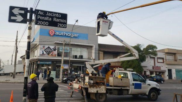 MGP - Giro izquierda en Peralta Ramos y Fortunato de la Plaza