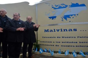 MGP - Inauguracion nuevo monumento a caído en Malvinas