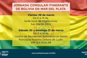MGP - Jornada Consular Itinerante de Bolivia