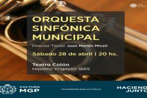 MGP - Orquesta Sinfonica Municipal 28 04 18