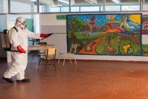 MGP - Primera semana de desratizacion en escuelas municipales