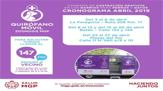 MGP - Quirofano Movil cronograma abril