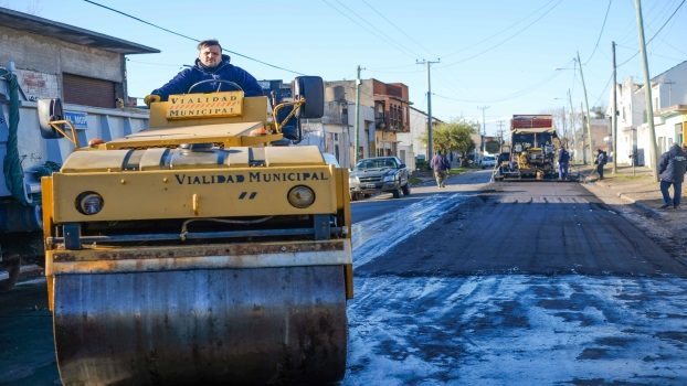 MGP - Recorrida obra de asfalto Genova y Polonia 2