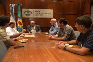MGP - Reunión de Arroyo con funcionarios de Inspección General