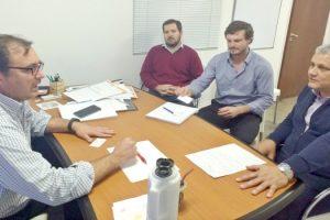 MGP - Transporte y Transito - Reunion con el director provincial de Política y Seguridad Vial