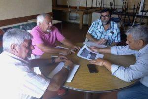 MGp - Reunion Cambareri con Sociedad de Fomento Coronel Dorrego