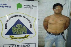 MS 05-11 Detenido por el robo al profesor en Moreno