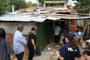 MS Desbarataron banda de narcos en la villa Itatí de Quilmes (1)