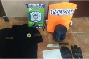 MS Detuvieron a los poli truchos en Quilmes