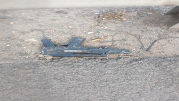 MS Detuvieron al loco de la metralleta en el camino del Buen Ayre (2)