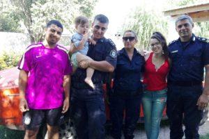 MS POLICÍAS SALVARON RCP NIÑO 1
