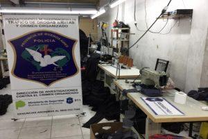 MS Rescataron a 15 ciudadanos bolivianos de un taller clandestino de costura de La Matanza 2