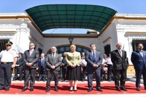 MS Ritondo y la Pta de Croacia homenajearon a Vucetich