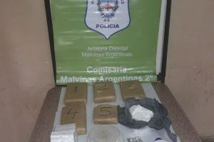 MS Secuestro droga Malvinas Argentinas