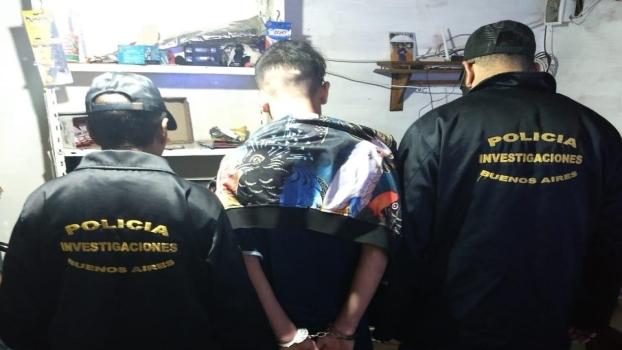 MS cayó Coquito, acusado del crimen del Plomero 1