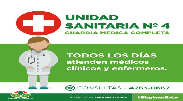 Nuevos médicos- Unidad Sanitaria 4