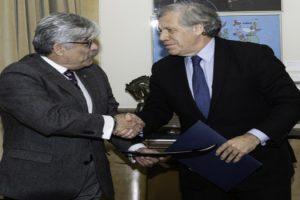 OEA Y EL SALVADOR FIRMARON ACUERDO PARA ENVÍO DE MISIÓN DE OBSERVACIÓN ELECTORAL (MOE)