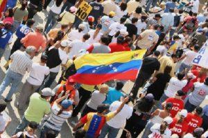 OEA venEZ-manifestantes