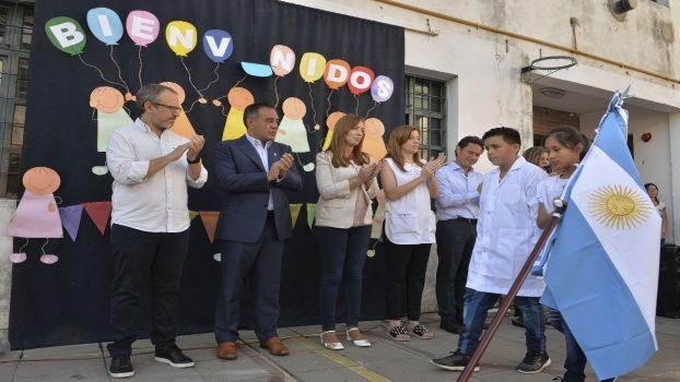 PCIA BS AS MARÍA EUGENIA VIDAL INAUGURÓ EL CICLO LECTIVO 2019