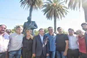 PJ BONAERENSE HOMENAJEÓ A RAÚL ALFONSÍN EN CHASCOMÚS