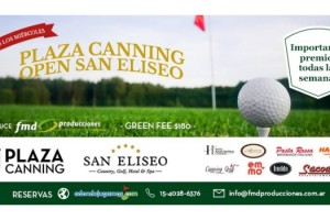 PLAZA CANNING Open San Eliseo - 2015