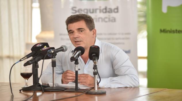 Ritondo dio conferencia de prensa por detenciones de sindicalistas de UOCRA