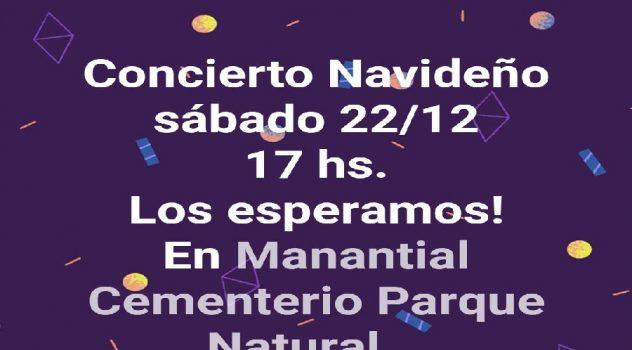 manantial concierto