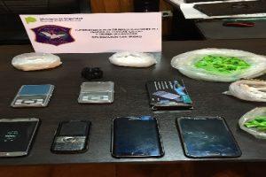 ms detenidos venta droga fiscalía